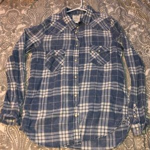 America Eagle Vintage Plaid Flannel (M)
